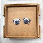 Custom Dog Stud Earrings - Dog Studs - Custom Dog Pet Earrings - Personalised Pet Stud Earrings - Pet Earrings - Pet Studs