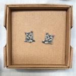 Custom Cat Stud Earrings - Cat Studs - Custom Cat Pet Earrings - Personalised Pet Stud Earrings - Pet Earrings - Pet Studs