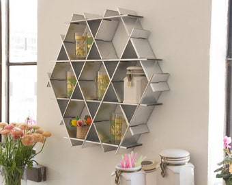 Kitchen Wall Storage, Kitchen Display, Shelf Organizer, Spice Rack, Modern  Kitchen Decor, Coffee Cup Holder , Pantry Storage