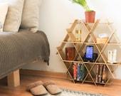 Nightstand, Bedside Table, Bedroom Storage, Bed Side Table, Gold Bedroom Decor, Night Stand, Bedroom Shelf, Cardboard Bedroom Furniture