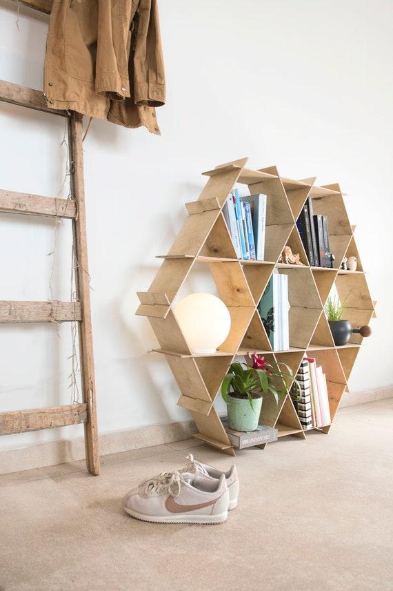 Interior Design Grosse Holz Regale Bucherregal Rustikal Home Etsy