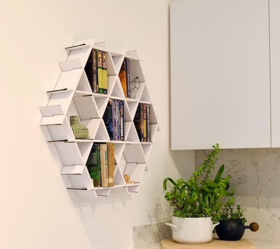Small Bookshelf Wall Shelf Floating Shelves Hanging | Etsy