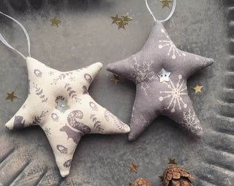 Nordic Christmas Star Decoration Tree Hanging