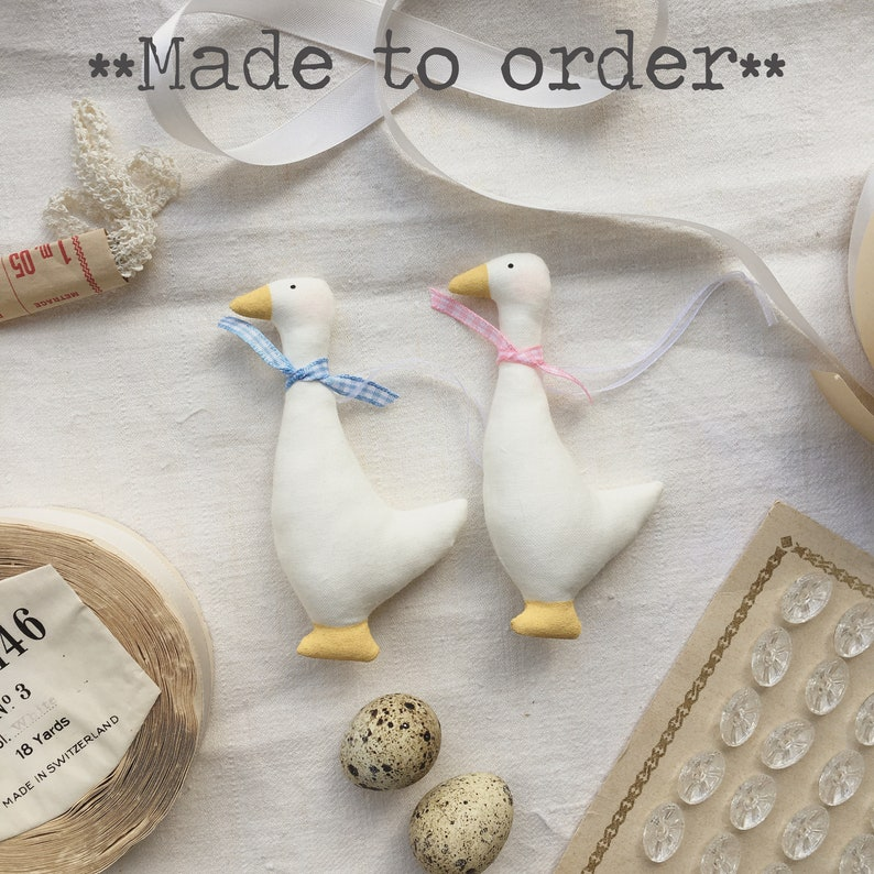 Made to OrderEaster Goose Decoration Tree Hanging  Small image 0