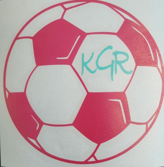 Full Color Soccer Ball Sticker