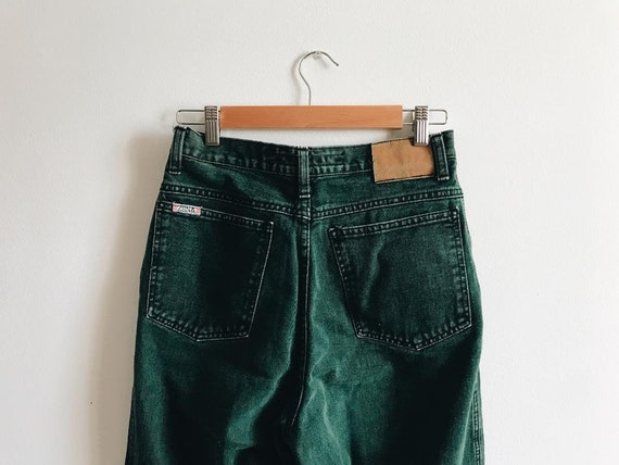 Size 10 - Emerald, High Waisted Zena Denim