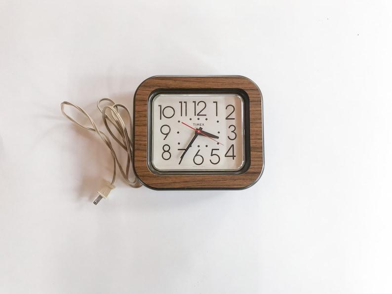 vintage electric timex clock