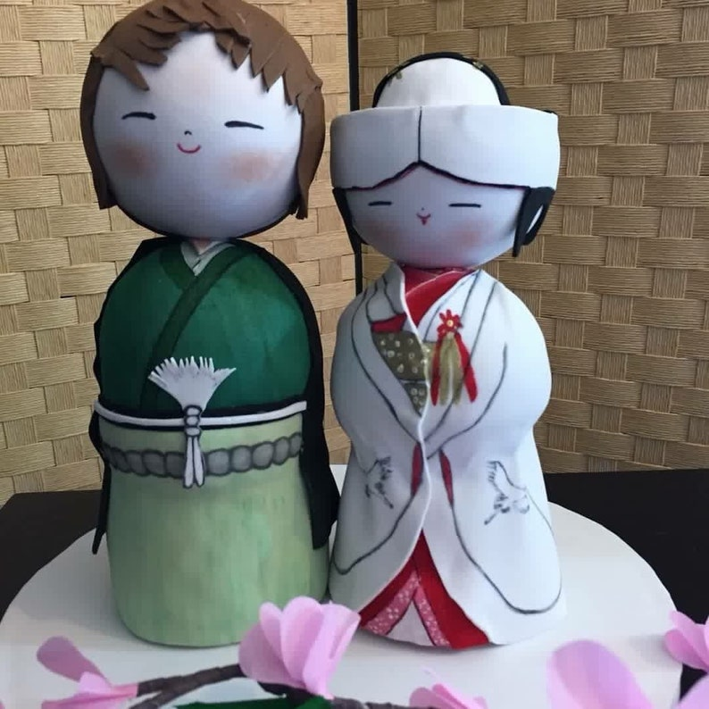 Japanese Cake Topper Etsy