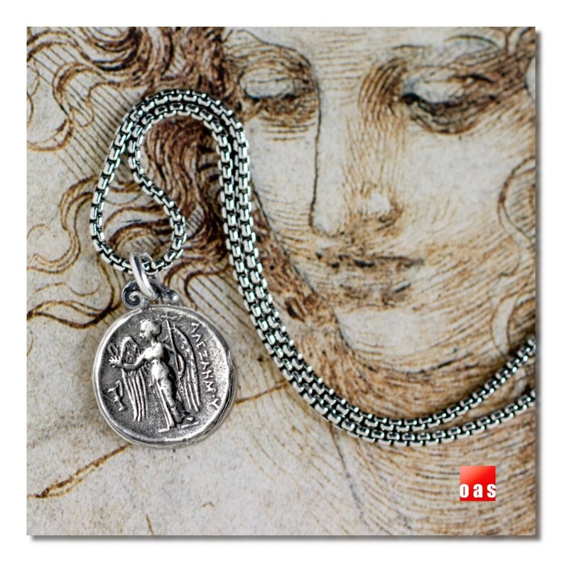 Sterling Silver Byzantine Angel Coin Necklace /& Earrings Matching Set Silver Byzantine Angel Coin Earrings Byzantine Angel Coin Necklace