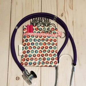 Gray! Purse organizer Vet Tech Nurse Scrub Pocket Organizer Nurse Gift LPN Pink RN Caduceus CNA Clinical Cross Nurse Heart