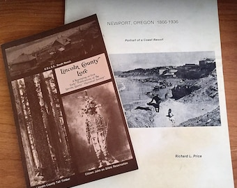 2 Out of Print Pacific Northwest Oregon History Books