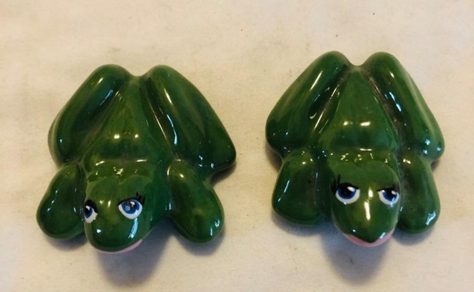 oh liebe erwachsene humor frösche vintage frosch figuren
