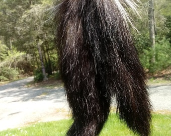 Skunk Tail Etsy
