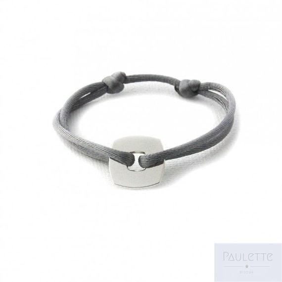 Bracelet Cercle//Cible en Argent 925