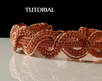 TUTORIAL - Twisted Braid Copper Bracelet