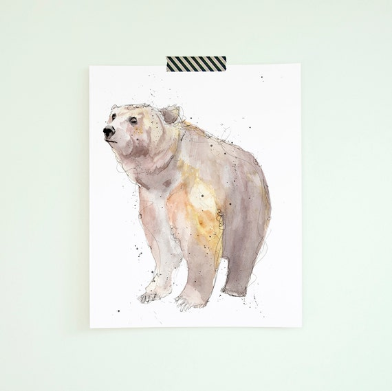 Cool Art Prints Bear