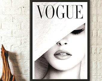 Vogue Cover Print 1950