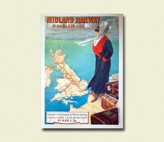 Capri Italy Retro Travel Poster Print 1920s New