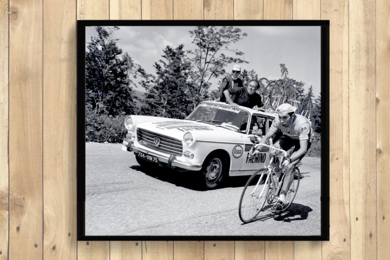 Tour De France Photography Print Tour De France Poster Vintage Bike Poster Bike Wall Art Cycling Poster Housewarming Gift Idea