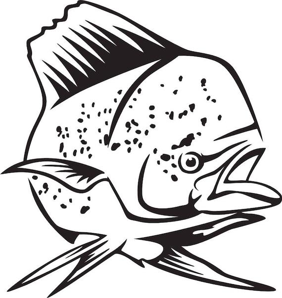 Download Mahi Fish Svg Etsy