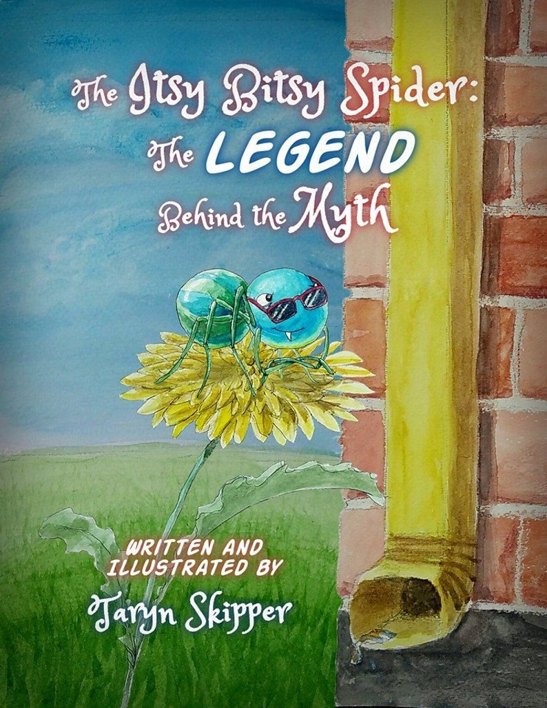 Children's picture book The Itsy Bitsy Spider: The Legend image 0