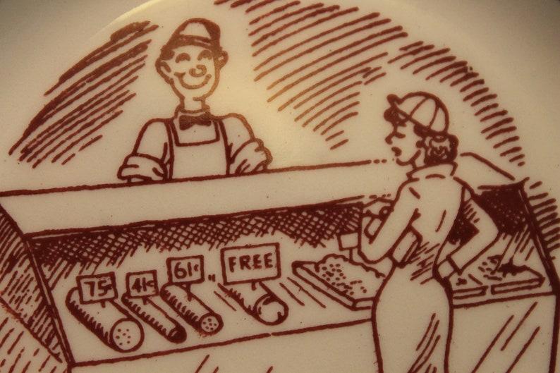 Adult Humor Novelty Ashtray Vintage Virginia Travel Souvenir Butcher Free Meat