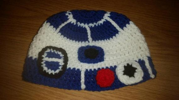 R2d2 Hat Star Wars Hat Child Hat Crochet Star Wars Crochet Etsy