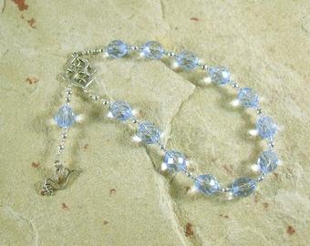 Eirene Pocket Prayer Beads: Greek Goddess of Peace