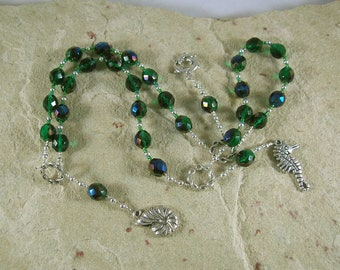 Manannan mac Lir Prayer Beads: Irish Celtic God of the Sea and the Otherworld