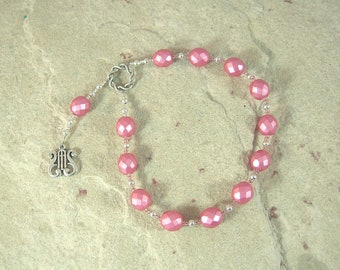 Erato Pocket Prayer Beads: Greek Muse of Lyric and Love Poetry
