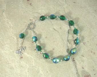 Rhea Pocket Prayer Beads: Titan Goddess of the Earth, Mother of the Greek Gods