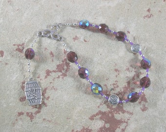 Sucellus Pocket Prayer Beads: Gaulish Celtic God of Fertility, Agriculture and Wine