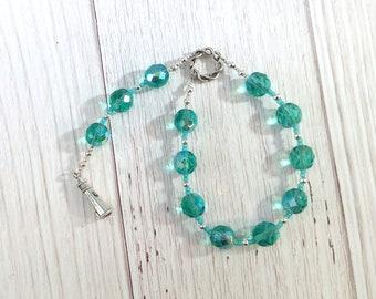 Njord Pocket Prayer Beads: Norse God of the Sea, Abundance and Commerce