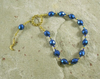Kronos (Cronus) Pocket Prayer Beads: Father of the Greek Gods, King of the Titans