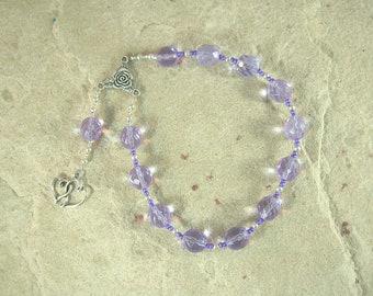 Harmonia Pocket Prayer Beads: Greek Goddess of Concord and Harmony