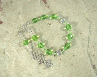 Nantosuelta Pocket Prayer Beads: Gaulish Celtic Goddess of Fertility, Abundance, and Home Arts