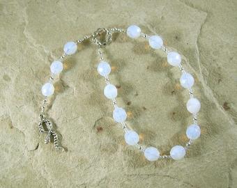Salus Pocket Prayer Beads: Roman Goddess of Health and Well-Being