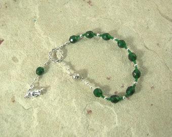 Frey Travel Prayer Beads: Norse God of Fertility, Passion, Abundance, Prosperity and Peace