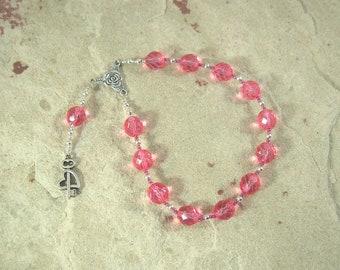 Peitho Pocket Prayer Beads: Greek Goddess of Persuasion, Seduction and Charm, Companion of Aphrodite