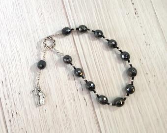 Thanatos Pocket Prayer Beads: Greek God of Death