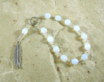 Ma'at Pocket Prayer Beads: Egyptian Goddess of Truth, Justice, and Order