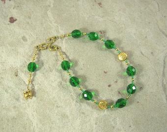 Dagda Pocket Prayer Beads: Irish Celtic God of Protection and Abundance