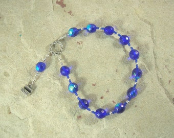 Elpis (Hope) Pocket Prayer Beads: Greek Goddess of Hope and Expectation