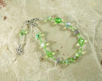 Flidais Pocket Prayer Beads: Irish Celtic Goddess of Wild Beasts and the Wilderness
