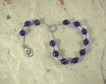 Var Pocket Prayer Beads: Norse Goddess of Oaths, Companion of Frigga
