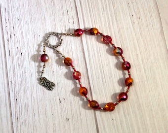Hemera Pocket Prayer Beads: Greek Goddess of the Day, Daughter of the Night