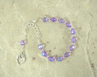 Eileithyia Prayer Bead Bracelet: Greek Goddess of Childbirth and Pregnancy, Protector of New Mothers and Infants