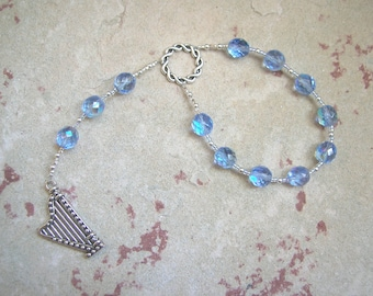 Bragi Pocket Prayer Beads: Norse God of Poetry and Inspiration
