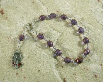 Mut Pocket Prayer Beads: Egyptian Mother Goddess, Goddess of the Heavens, Queen of Gods