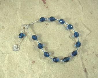 Eleos (Pity) Pocket Prayer Beads: Greek Goddess of Compassion and Mercy